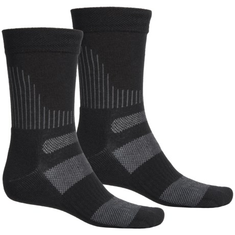 Terramar All-Terrain CoolMax® Socks - 2-Pack, Crew (For Men and Women)