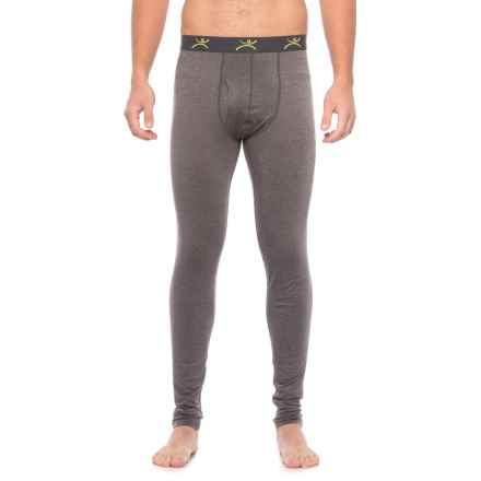 Terramar Ascendor Base Layer Pants - UPF 25+ (For Men) in Asphalt Melange - Closeouts