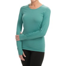 Terramar Body Sensor Base Layer Top - UPF 25+, Long Sleeve (For Women) in Jade - Closeouts