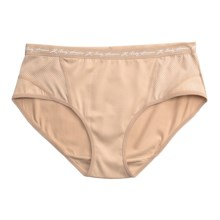 Terramar Body Sensors® Tech Jersey Panties - Bikini Briefs (For Women) in Nude - Closeouts