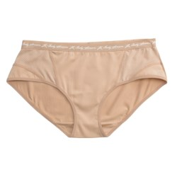 Terramar Body Sensors® Tech Jersey Panties - Hipster Briefs (For Women) in Nude