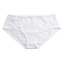 Terramar Body Sensors® Tech Jersey Panties - Hipster Briefs (For Women) in Nude