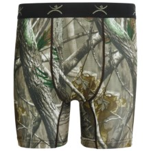 Terramar Camo Essentials Boxer Briefs - Underwear (For Men) in Realtree Ap - Closeouts