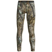 Terramar Camouflage TXO 2.0 Base Layer Bottoms - Midweight, UPF 50+ (For Men) in Realtree Ap - Closeouts
