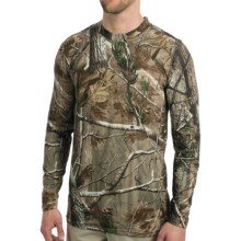 Terramar Camouflage TXO 2.0 Base Layer Top - UPF 50+, Midweight, Long Sleeve (For Men) in Realtree Ap - Closeouts