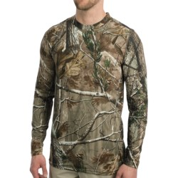 Terramar Camouflage TXO 2.0 Base Layer Top - UPF 50+, Midweight, Long Sleeve (For Men) in Realtree Ap