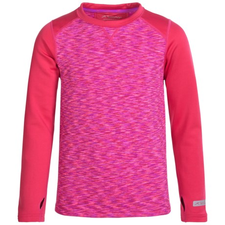 Terramar ClimaSense® 3.0 Fleece Base Layer Top - UPF 50+, Long Sleeve (For Little and Big Kids)