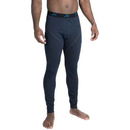Terramar ClimaSense® 4.0 Base Layer Pants - UPF 50+ (For Men) in Imperial Blue Heather - Closeouts