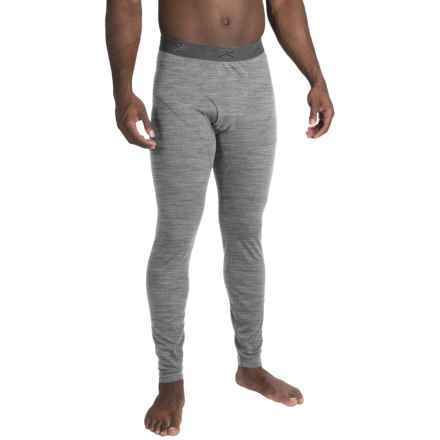 Terramar ClimaSense® 4.0 Base Layer Pants - UPF 50+ (For Men) in Light Heather Grey - Closeouts