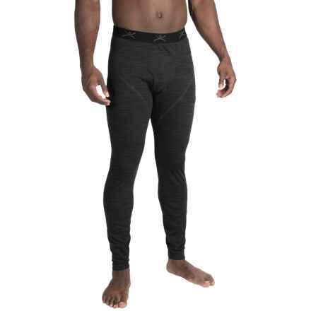 Terramar ClimaSense® 4.0 Base Layer Pants - UPF 50+ (For Men) in Smoke Heather - Closeouts