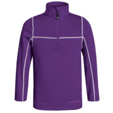 Terramar Climasense Ecolator CS 3.0 Base Layer Top - UPF 50+, Long Sleeve (For Little and Big Kids) in Purple Rain - Closeouts