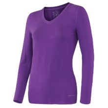 Terramar Climasense Kashmir CS 1.0 Base Layer Top - UPF 25+, Long Sleeve (For Women) in Purple Rain - Closeouts