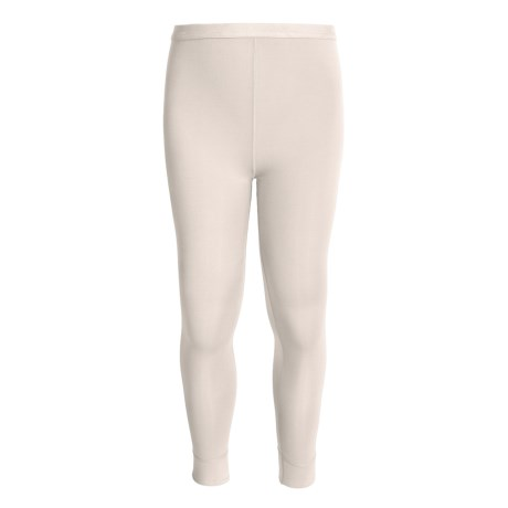 Terramar ClimaSense® Thermolator CS 2.0 Base Layer Pants - UPF 25+ (For Little and Big Kids) in White
