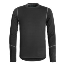Terramar Climasense Thermolator CS 2.0 Base Layer Top - UPF 25+, Long Sleeve (For Little and Big Kids) in Black - Closeouts
