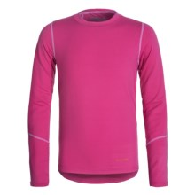 Terramar Climasense Thermolator CS 2.0 Base Layer Top - UPF 25+, Long Sleeve (For Little and Big Kids) in Cosmo - Closeouts