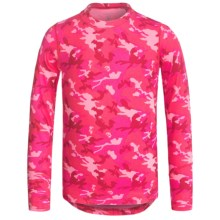 Terramar Climasense Thermolator CS 2.0 Base Layer Top - UPF 25+, Long Sleeve (For Little and Big Kids) in Pink Camo - Closeouts