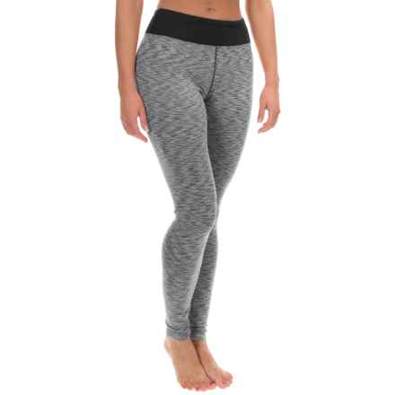 Terramar ClimaSense® Tri-Color Base Layer Pants - UPF 50+ (For Women) in Black - Closeouts