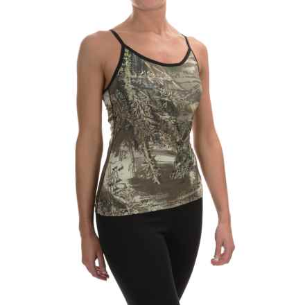 Terramar Cloud Nine Camo Camisole (For Women) in Realtree Max1 - Closeouts