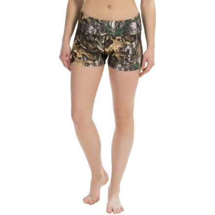 Terramar Cloud Nine Camo Shorty Base Layer (For Women) in Real Tree Xtra - Closeouts