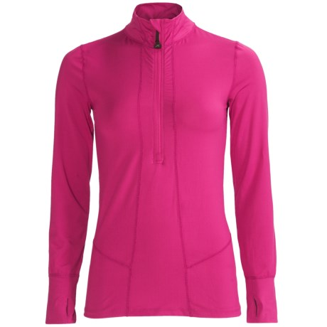 photo: Terramar Hot Totties Cloud Nine Half Zip Shirt
