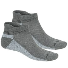Terramar Cool-Dry Pro Socks - 2-Pack, Ankle  (For Men) in Light Grey - Closeouts