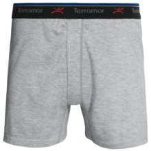 Terramar CoolMax® Boxers (For Men) in Grey Heather - Closeouts