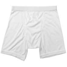 Terramar CoolMax® Ribbed Underwear - Boxer Briefs (For Men) in White - Closeouts