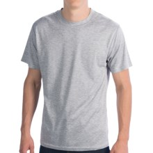 Terramar CoolMax® T-Shirt - Short Sleeve (For Men) in Grey Heather - Closeouts