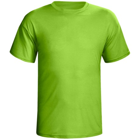 Terramar Dri-Release® T-Shirt-  Lightweight, Short Sleeve (For Men) in Citrus
