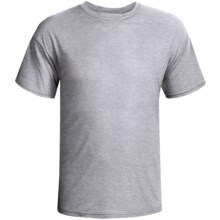 Terramar Dri-Release® T-Shirt-  Lightweight, Short Sleeve (For Men) in Grey Heather - Closeouts