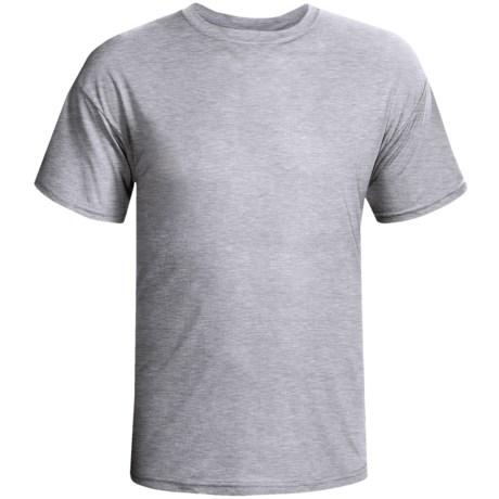 Terramar Dri-Release® T-Shirt-  Lightweight, Short Sleeve (For Men) in White