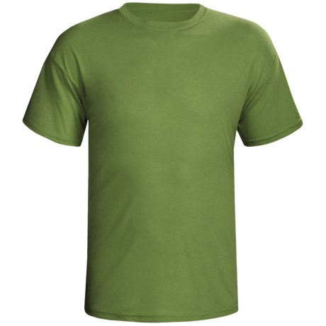 Terramar Dri-Release® T-Shirt-  Lightweight, Short Sleeve (For Men) in Olive
