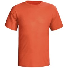 Terramar Dri-Release® T-Shirt - Short Sleeve (For Men) in Brick - Closeouts