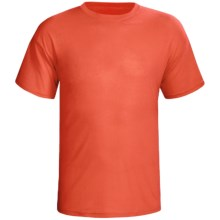 Terramar Dri-Release® T-Shirt - Short Sleeve (For Men) in Bright Orange - Closeouts