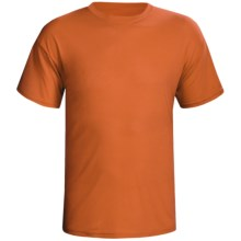 Terramar Dri-Release® T-Shirt - Short Sleeve (For Men) in Russett - Closeouts