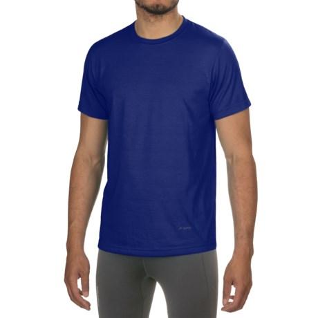 Terramar Dri-Release® T-Shirt - UPF 25+, Short Sleeve (For Men) in Indigo