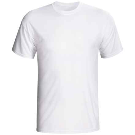 Terramar Dri-Release® T-Shirt - UPF 25+, Short Sleeve (For Men) in White - Closeouts