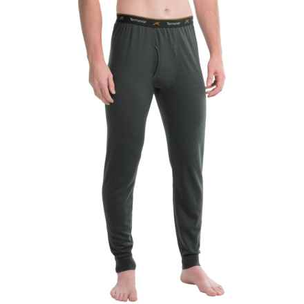 Terramar EC2 Qwik-Dri® Microthermal Pants - UPF 25+ (For Men) in Black - Closeouts