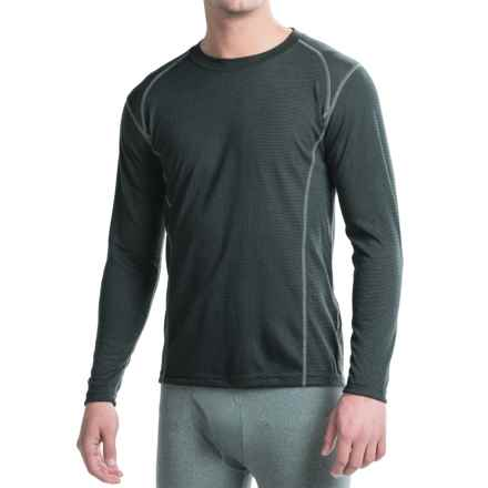 Terramar EC2 Qwik-Dri® Microthermal Top - UPF 25+, Long Sleeve (For Men) in Black - Closeouts
