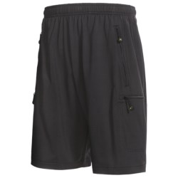 Terramar Eclipse Shorts - UPF 50+ (For Men) in Black