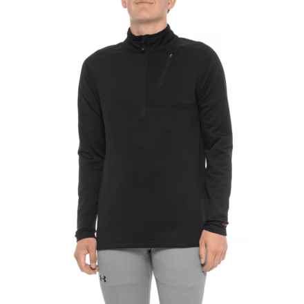 Terramar Ecolator ClimaSense® 3.0 Base Layer Top - UPF 30+, Zip Neck, Long Sleeve (For Men) in Black - Closeouts