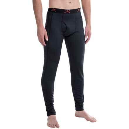 Terramar Ecolator ClimaSense® 3.0 Fleece Base Layer Pants - UPF 50+ (For Men) in Black - Closeouts