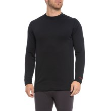 Terramar Ecolator ClimaSense® 3.0 Fleece Base Layer Top - UPF 50+, Long Sleeve (For Men) in Black - Closeouts