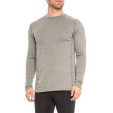Terramar Ecolator ClimaSense® 3.0 Fleece Base Layer Top - UPF 50+, Long Sleeve (For Men) in Light Grey Heather - Closeouts