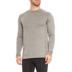 Terramar Ecolator ClimaSense® 3.0 Fleece Base Layer Top - UPF 50+, Long Sleeve (For Men) in Light Grey Heather