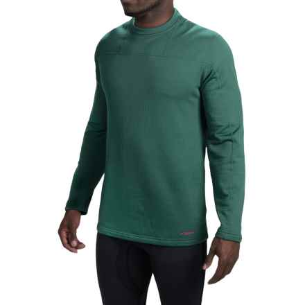 Terramar Ecolator Fleece Base Layer Top - UPF 50+, Long Sleeve (For Men) in Evergreen - Closeouts