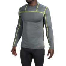 Terramar Ecolator Fleece Base Layer Top - UPF 50+, Long Sleeve (For Men) in Smoke - Closeouts