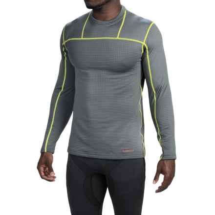 Terramar Ecolator Fleece Base Layer Top - UPF 50+, Long Sleeve (For Men) in Smoke - Closeouts