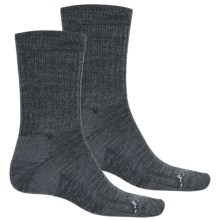 Terramar Everyday Merino Crew Socks - 2-Pack, Merino Wool (For Men) in Grey Heather - Closeouts