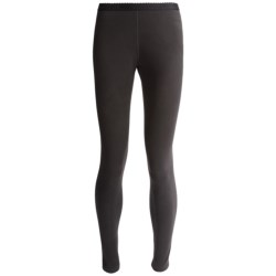 Terramar Fleece Base Layer Bottoms - Lightweight (For Women) in Black